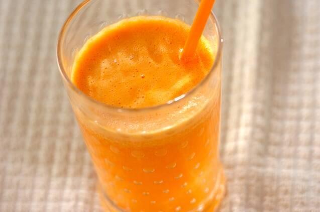 オレンジとグレープフルーツのジュース