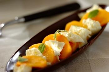 柿モッツァレラ