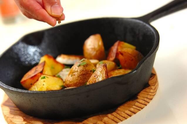ジャガイモと里芋のグリルの作り方の手順5