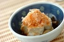 ほろほろ木綿豆腐の小鉢