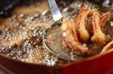 イカゲソのから揚げの作り方2