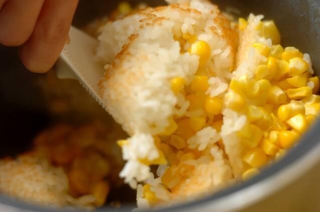 トウモロコシご飯の作り方の手順4