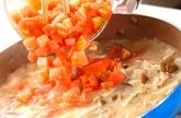 アサリのスープパスタの作り方4