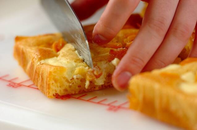 レモンとマンゴーの爽やかチーズ風味スティックケーキの作り方の手順9