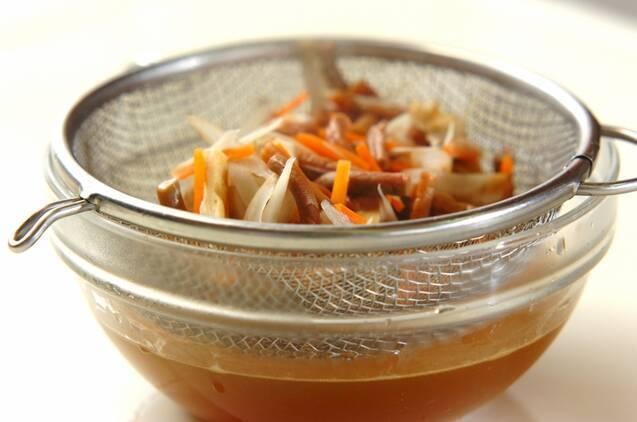 ゼンマイの炊き込みご飯の作り方の手順7
