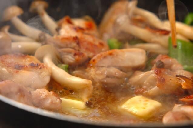 チキンのガーリックバター炒めの作り方の手順4
