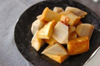 レンコンのピリ辛炒め