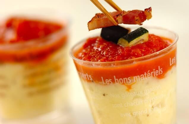 トマトソースのポテトクリームの作り方の手順5