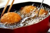 シイタケのエビ詰めフライの作り方2