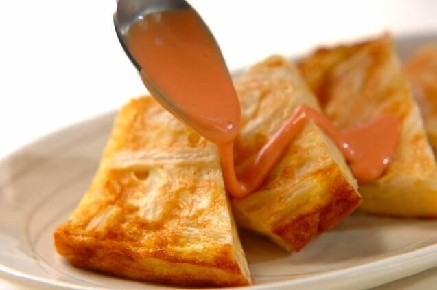 長芋入り卵焼きの作り方の手順5