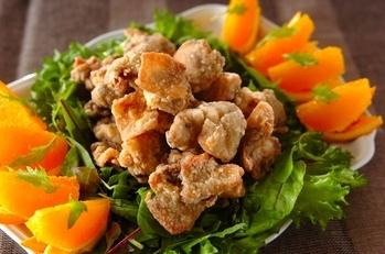 ママレード味鶏むね肉唐揚げ