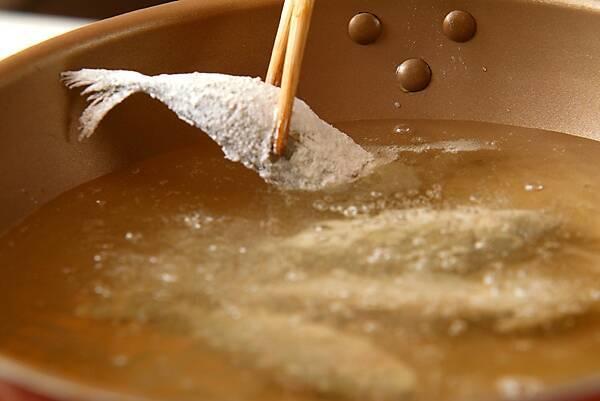 小アジの南蛮漬けの作り方の手順7