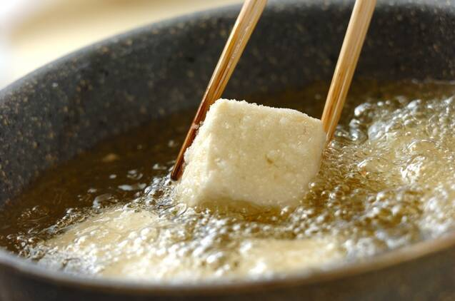 揚げ出し豆腐の作り方の手順4