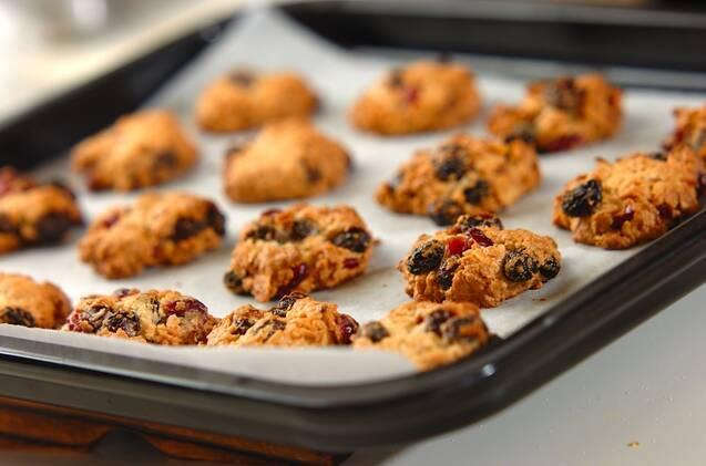 オートミールのドロップクッキーの作り方の手順5