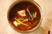 韓国風みそ汁