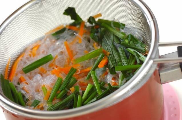 韓国風春雨サラダの作り方の手順2