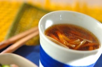 エノキとセロリの中華スープ
