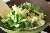 白菜と鶏肉のクリーム煮の作り方1