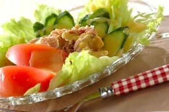 シンプルツナサラダ