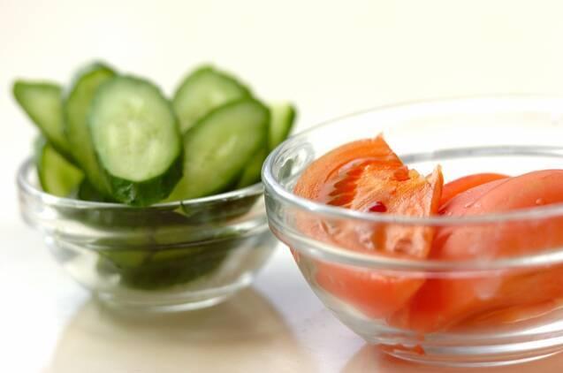 シンプルツナサラダの作り方の手順2