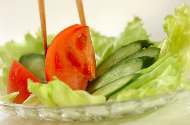 シンプルツナサラダの作り方の手順4