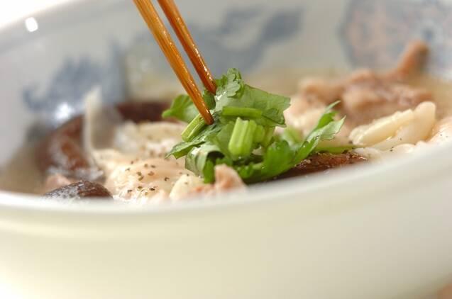 ワンタンスープの作り方の手順6