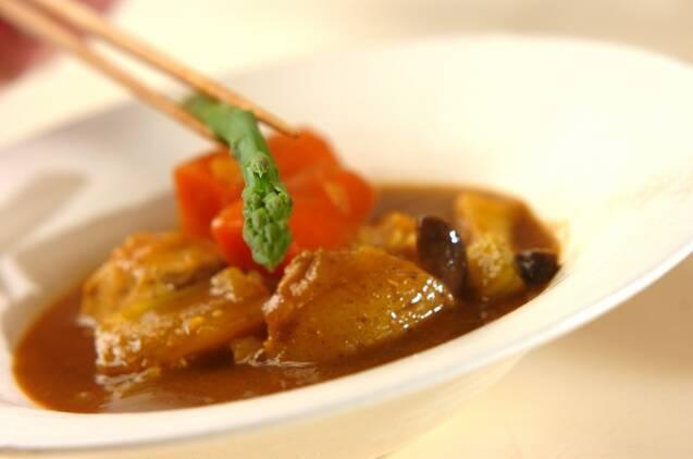 チキンのスープカレーの作り方の手順8