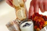 3品でOK 唐揚げチリコンカン弁当の作り方4