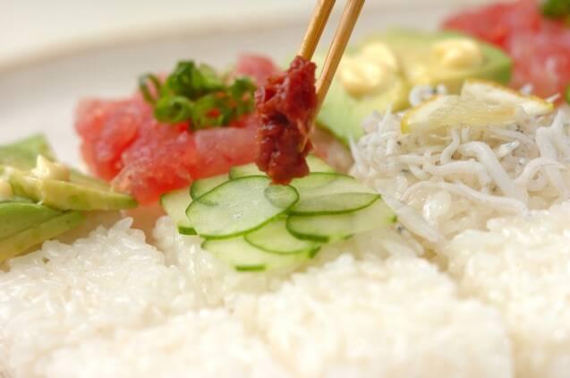 ひな祭りのモザイク寿司の作り方の手順7