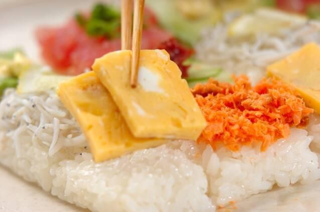 ひな祭りのモザイク寿司の作り方の手順8