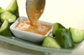 しょうゆ麹マヨキュウの作り方2