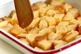 レンジフレンチトーストの作り方1