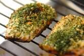 塩サバのサクサク磯辺焼き~焼き野菜添え~の作り方4