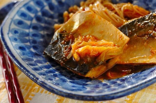 サバのコチュジャン煮