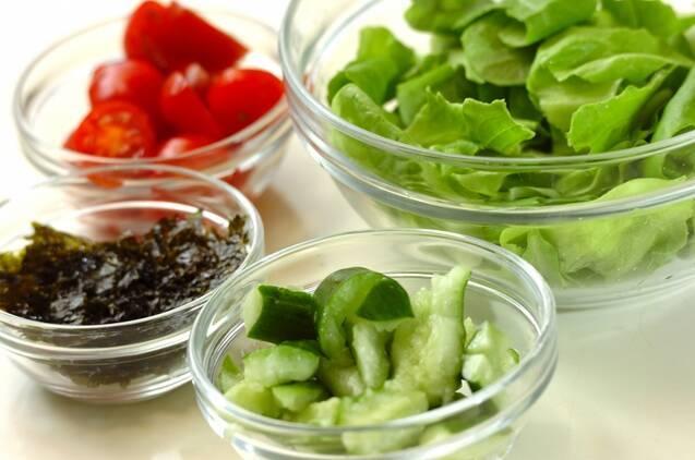チョレギサラダの作り方の手順1