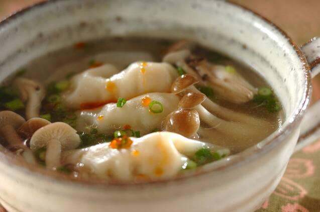 簡単餃子スープ