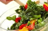 春の彩り野菜サラダの作り方4