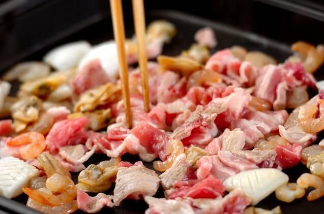 大きなバインセオ(ベトナム風お好み焼き)の作り方の手順3
