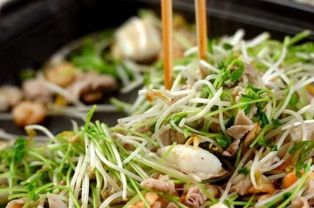 大きなバインセオ(ベトナム風お好み焼き)の作り方の手順4