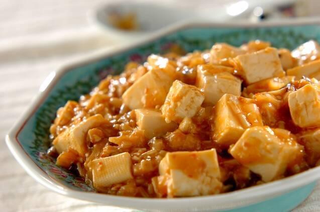 キノコたっぷりベジ麻婆豆腐