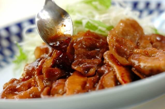 濃厚なコク!豚肉のハチミツショウガ焼きの作り方の手順3