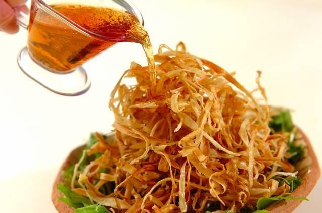 揚げゴボウのサラダの作り方の手順6