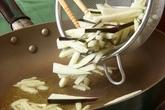 ほうれん草ニンニク炒めの作り方1