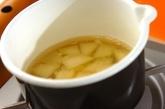 ジャガイモのキムチ豆乳汁の作り方1