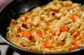 豆腐入り和風オムレツの作り方3