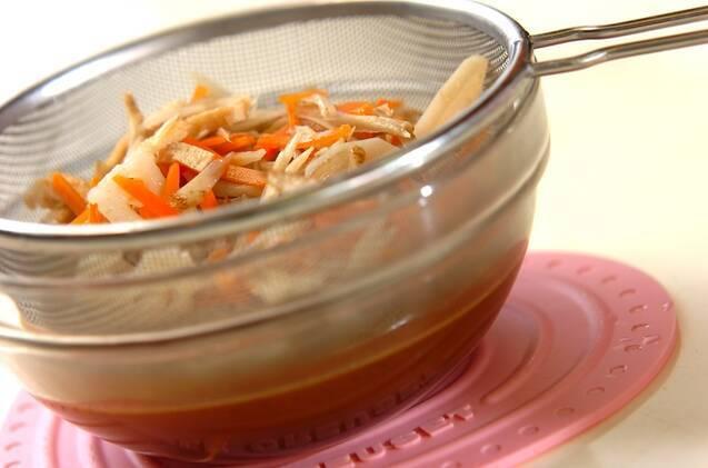 根菜の炊き込みごはんの作り方の手順8