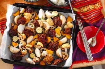 韓国風牛肉のぎゅうぎゅう焼き