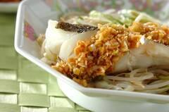 白身魚の中華レンジ蒸し
