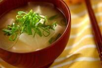 豆腐と大根のみそ汁