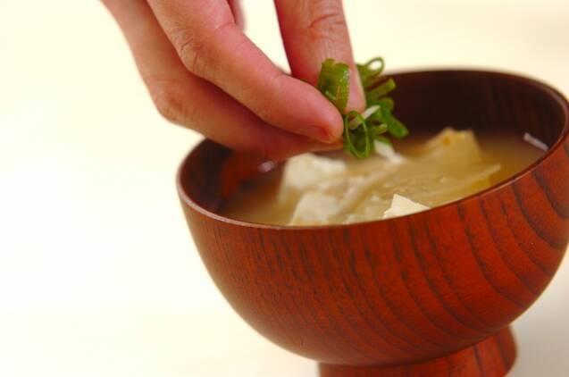 豆腐と大根のみそ汁の作り方の手順3